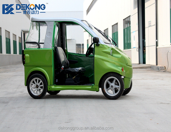 New Energy Street Legal 2 Person Electric Mini Car For