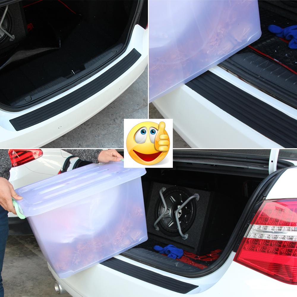 Parachoques protección ABS negro para dacia logan mcv ii//2 2013