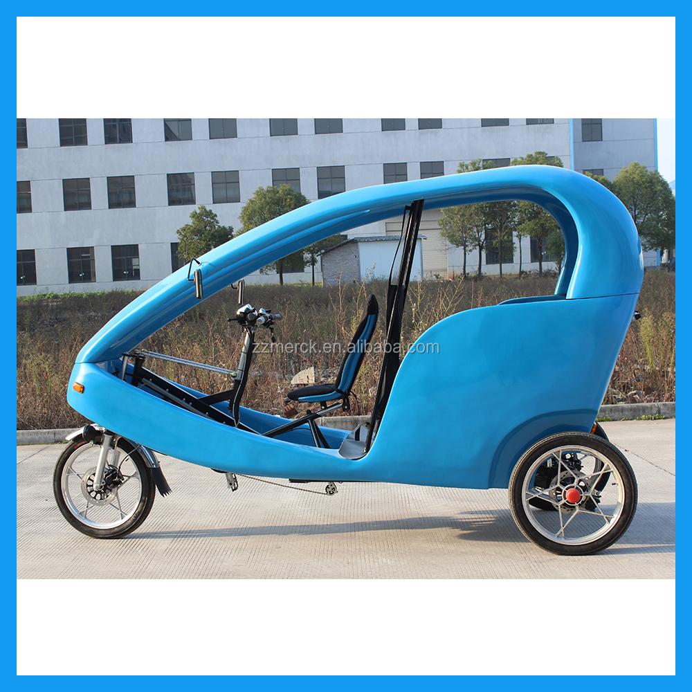 3 Wheel Electric Taxi Car