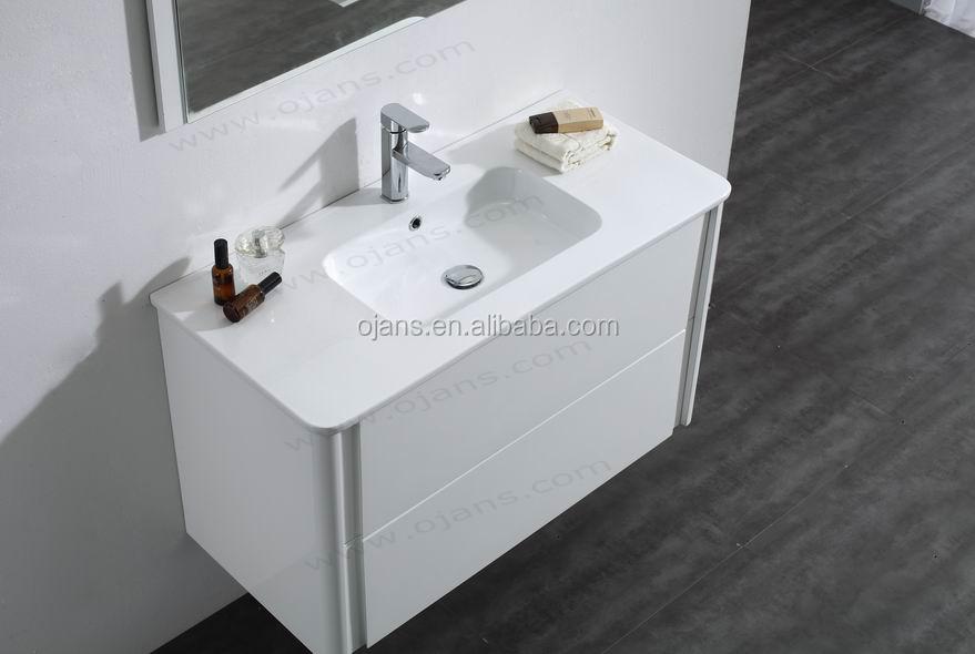 1000mm High Gloss White Bathroom Furniture Clearance