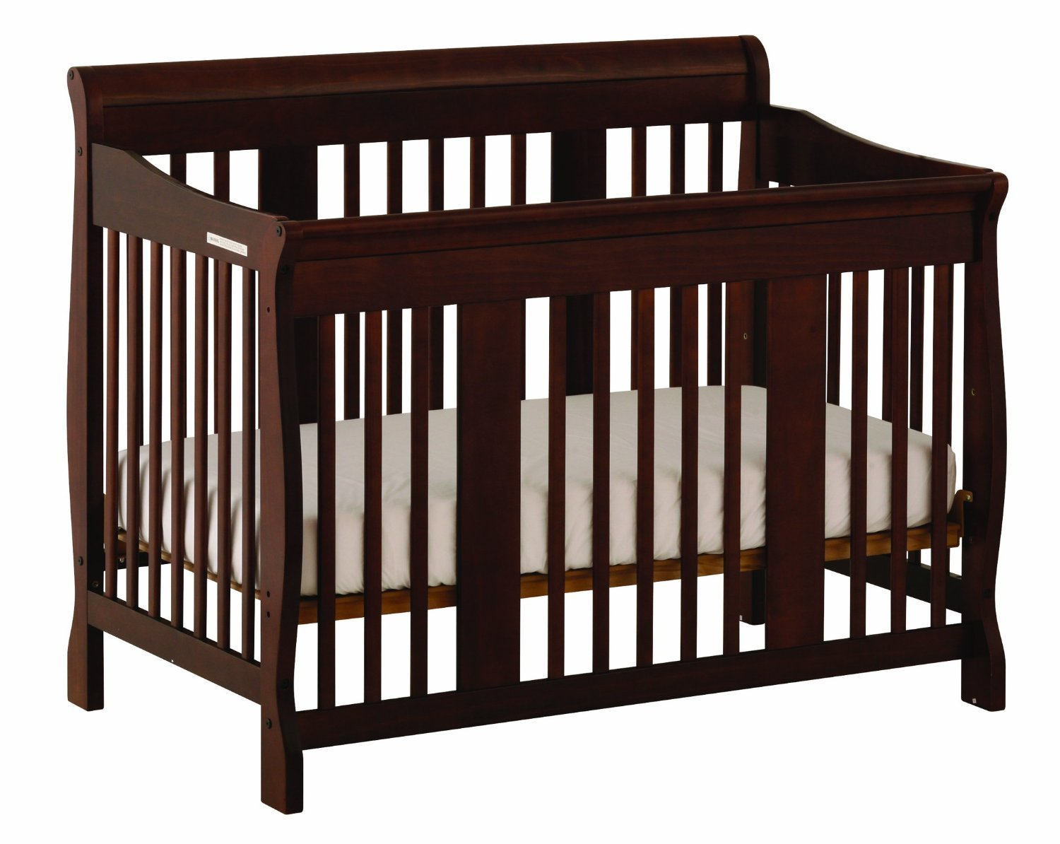 rail ben in collection franklin cribs providence oak aged resize crib toddler convertible with
