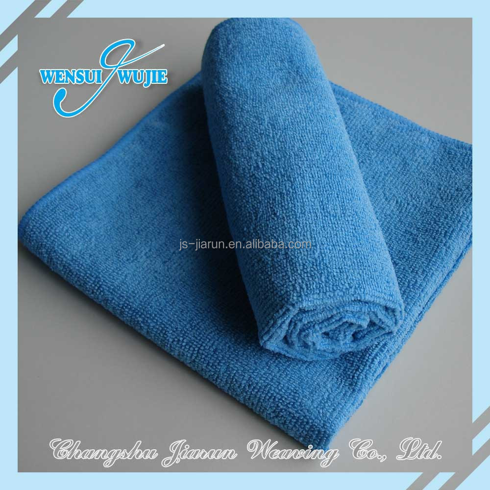 2018 Solid wholesale micro fiber cleaning clothes towels china