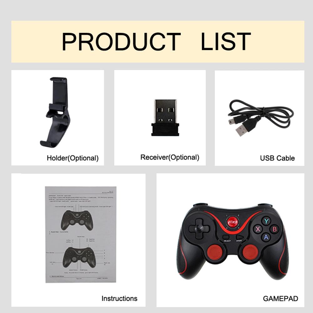 Ilinktec T3 Wireless Bluetooth Gamepad Gaming Controller