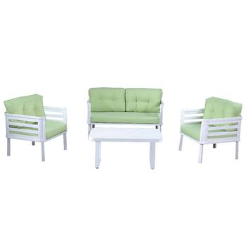 Cool Fashion Designs Multi Use Patio Garden Furniture White Aluminum Outdoor Single Double Sofa Set With Cushions Buy Latest Design Sofa Set Outdoor Ibusinesslaw Wood Chair Design Ideas Ibusinesslaworg