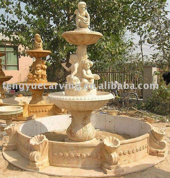 fuente de agua del jard n de marmol productos de piedra
