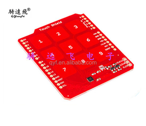 MPR121 IC Touch Shield for UNO