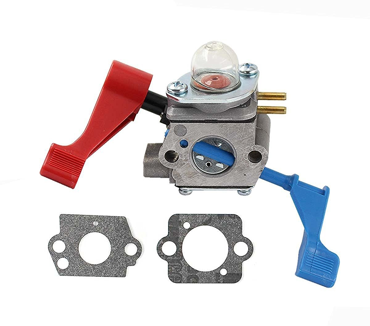 Smarta Carburetor For Poulan FL1500 FL1500LE Gas Leaf Blower Zama C1U-W12B Carb (Carburetor +Two Gasket)