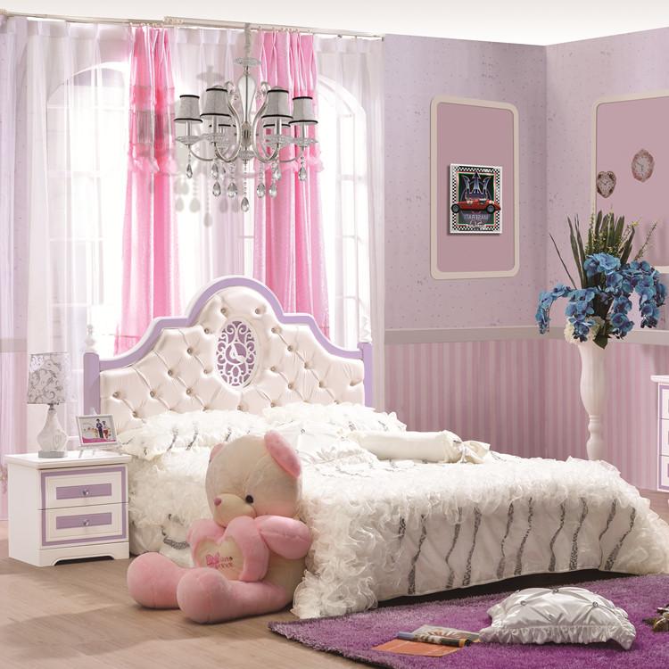 children's furniture suite bedroom suite princess bed bed