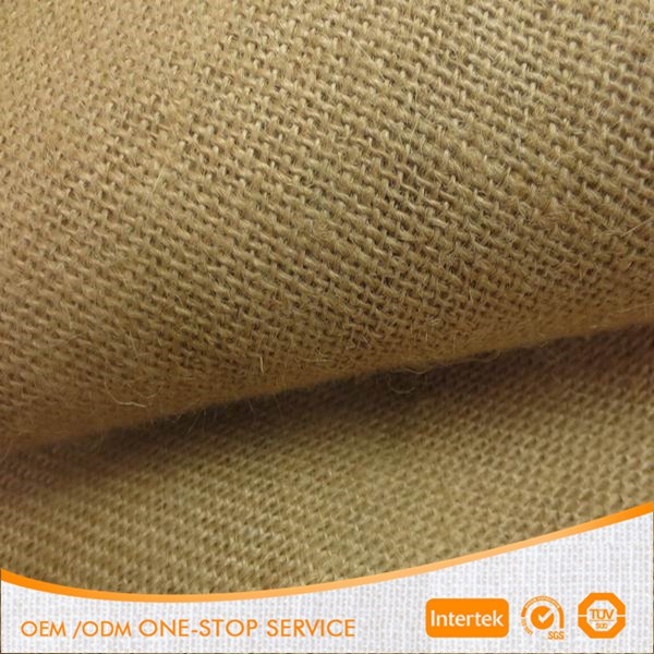 "100% jute 52*58 62"" eco-friendly jute fabric for make bags"