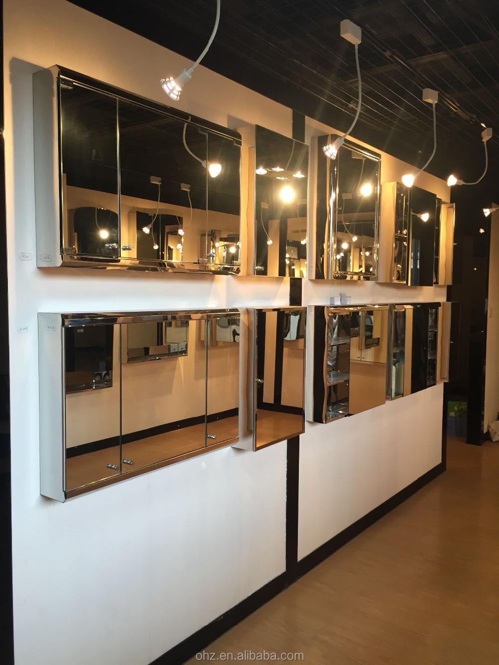 mirror cabinet luxury bathroom mirror cabinet accessories cabinet