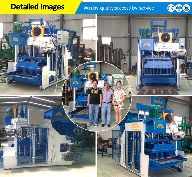 Small Scale QT4-15 concrete egg laying block/cement hollow solid block/manual automatic brick block making machine for sale