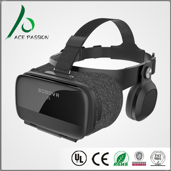 Wireless verbindung VR headset mit Audio vibration 3D Vr Virtual Reality Video 3d-brille smart box