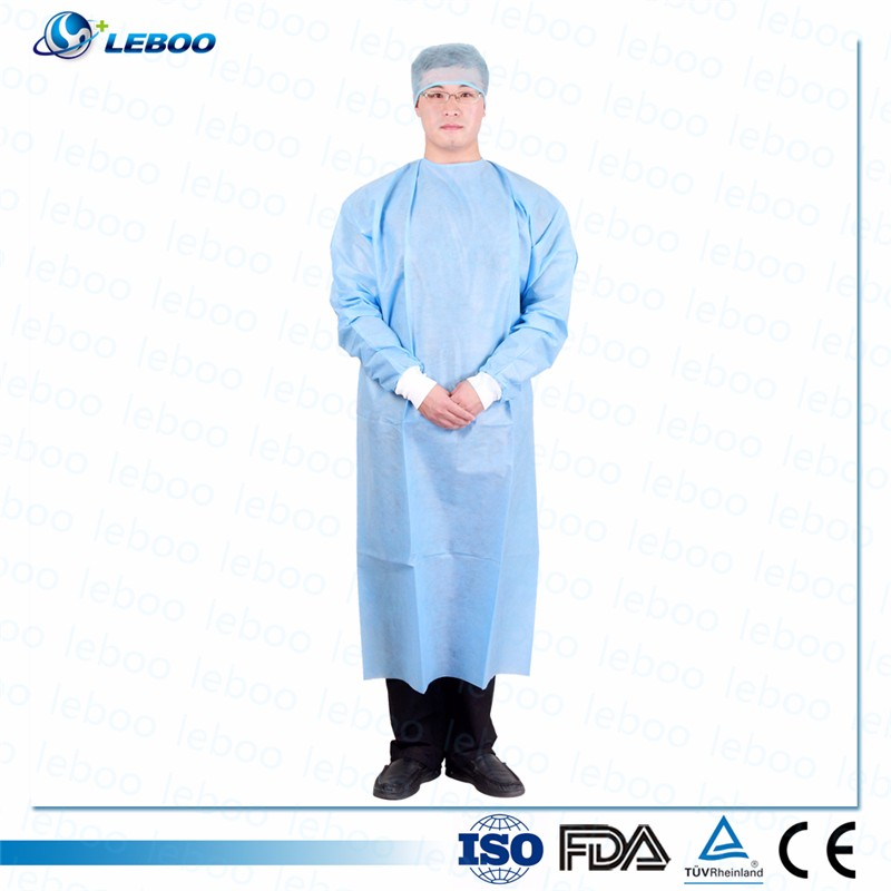 Sterile Disposable Non Woven Surgical Gown - Buy Disposable Gown ...