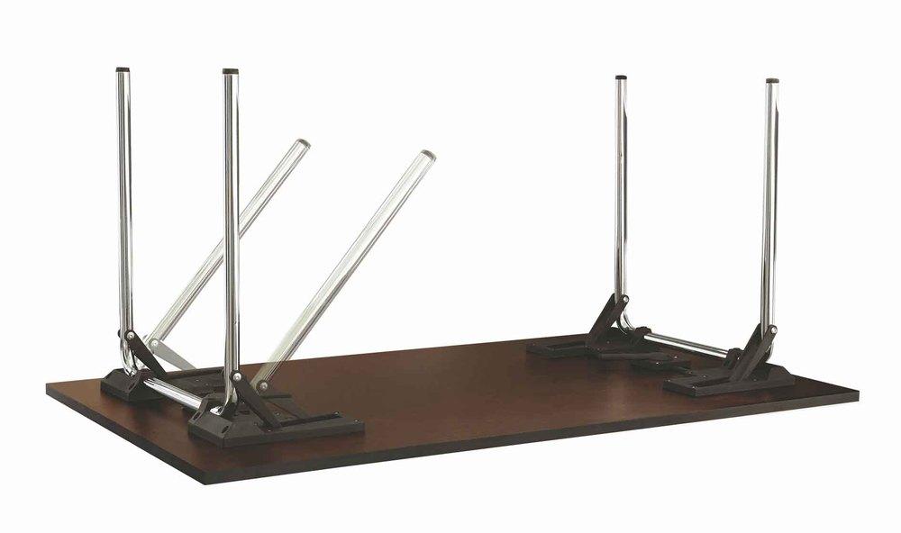 foldable office desk. office flip wood top table modern conference mdf foldable desk