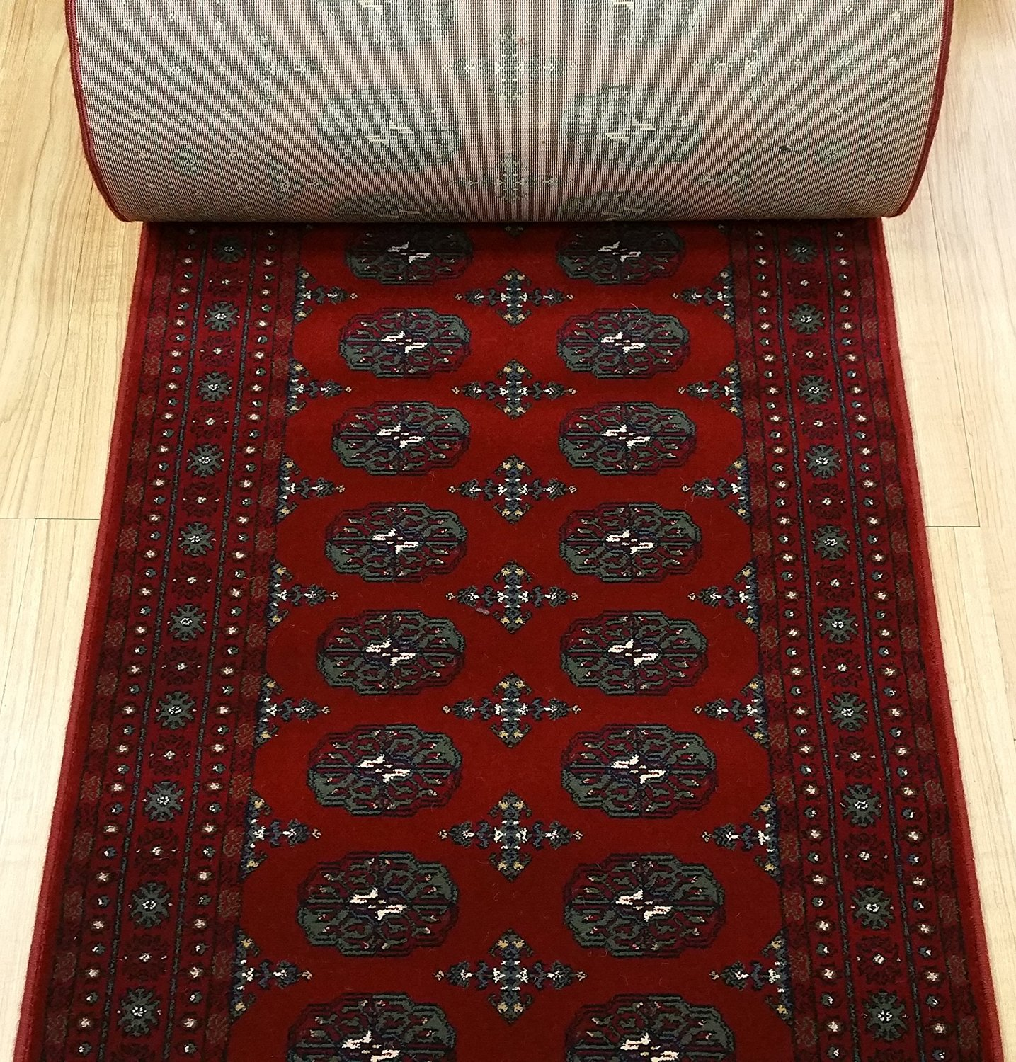 Buy 789417 Rug Depot Bokhara Red Traditional Hall And