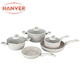 Stone Forged non-stick coating Aluminum Cookware set