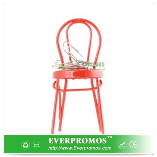 Red Magnet Chair Paperclip Holder For Stress Relief