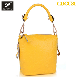 Yellow Genuine Leather Handbags Women Supplieranufacturers At Alibaba