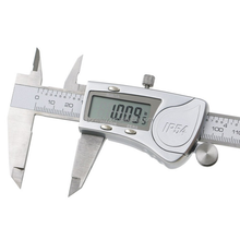 Industri IP54 <span class=keywords><strong>Digital</strong></span> <span class=keywords><strong>Caliper</strong></span> Stainless Steel Elektronik Vernier Kaliper Metrik/Inch Alat Ukur 0-150 Mm