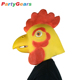 Adult Cartoon Costume Cosplay Party Rubber Latex Head Chick/Chucky/Cockerel/Rooster/Chicken/Cock Mask
