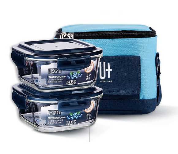 Microwave Glass Lunch Box