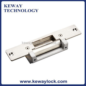 long type stainless steel door lock strike plate american standard electric strike no or nc