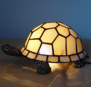 tiffany tortoise stained glass animal lamps