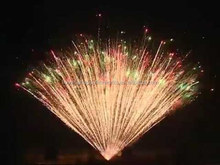 36 shots Water Display Cake Fireworks- 1.75 inch Fanshaped- CE certificate for celebration new year 1.3G