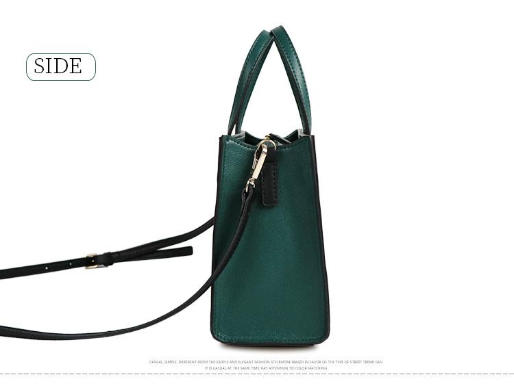Woman hand bag 2019 designer Euro fashion street ladies handbags Multicolor choice bag shoulder handbag