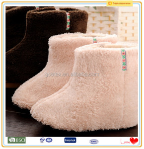 Pink coral fleece canada fashionable woman boots shoes