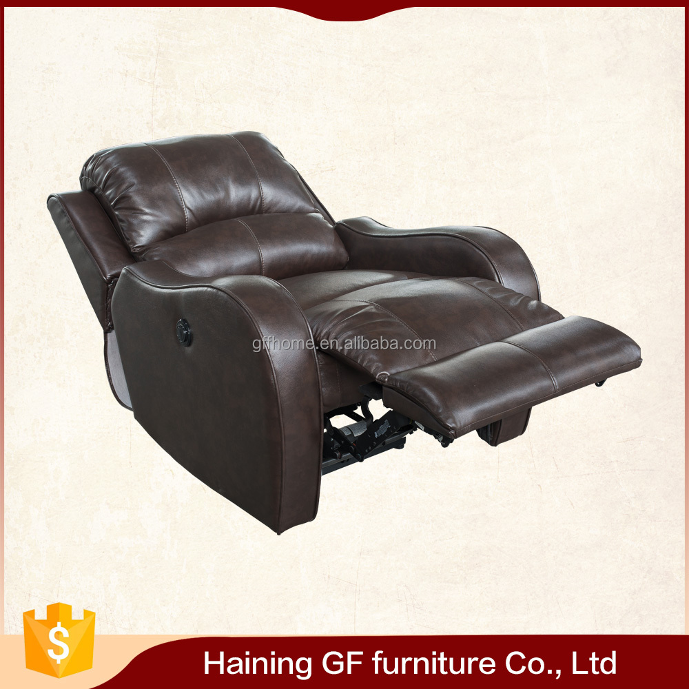 get comfort convenience push button full Foam Seating power recline sofa chair
