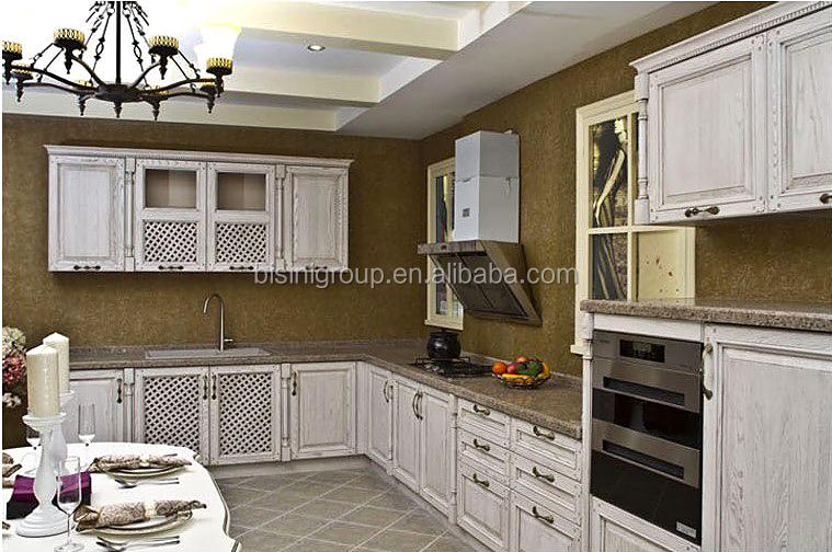Massivholz Küchenschränke Design,Brauch Küchenschrank,Französisch ...