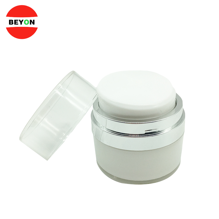 Customized 30ml Cosmetic Acrylic Luxury Body Cream Jar
