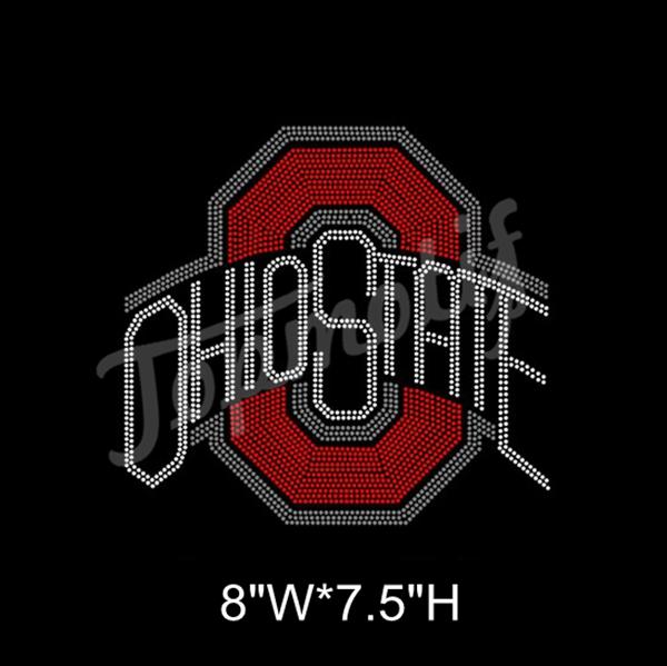 8d56a39b Ohio State T Shirt Transfers Custom Rhinestones - Buy Transfers ...