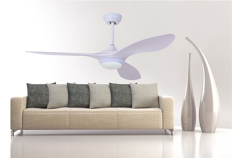 New Come Zhongshan Modern Model Bedroom Ceiling Fan 12W Led Light