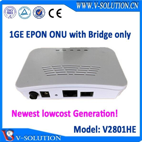 1GE Single LAN Port EPON ONU Fiber Optic Node Fully Compatible with Huawei/ZTE/Fiberhome OLT Made in China for Wholesale Market