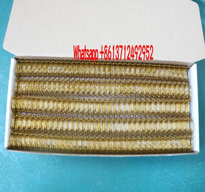 NanBo Binding Material Double Loop Wire O, Metal Double Loop Wire