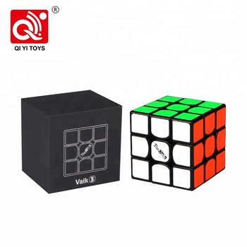 ABS playful play 55.5mm 3 layer qiyi valk for brains train