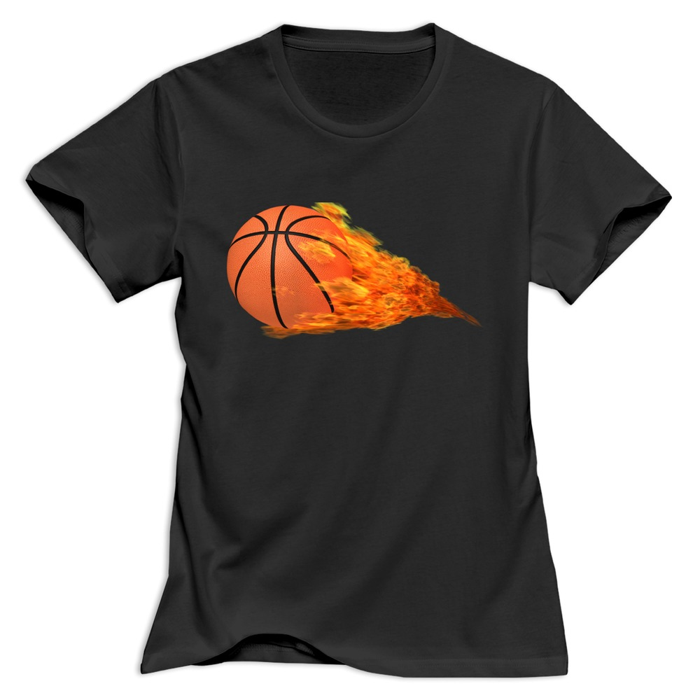 Get Quotations · 2015 Pretty O Neck t shirt Basketball women s T Shirts  Promotion 9174318db