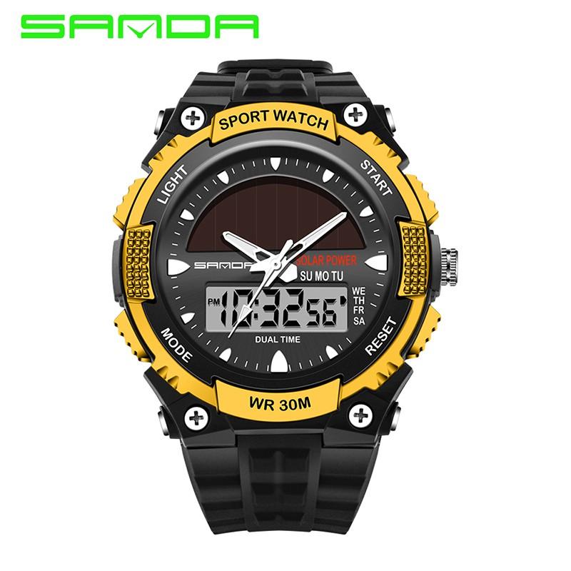 Digital Watches Buy Cheap Ohsen 2016 Solar Digital Men Watches 5atm Waterproof Quartz Power Led Sports Women Outdoor Wristwatches Relogio Masculino Watch Men's Watches