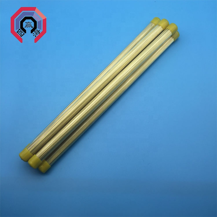 Brass Drill EDM Electrode Tubing Multi-Channel 2.00 mm OD X 400 mm L 20 Pcs//Pack