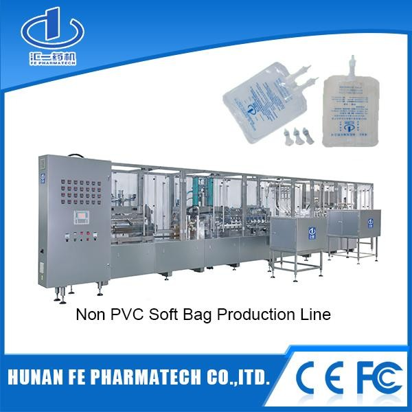 Single Hose & Dual-hose & Multi-chamber Soft Bag Infusion Production Line