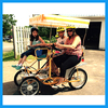 Free Spare Parts Provided 4 Wheels Two (2), Four (4) and Six (6) Person Family Tandem Bike For Sale