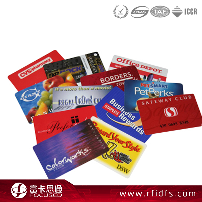 Best Selling Membership Thin Smart MIFARE Classic 1K Chip ISO14443A RFID Card