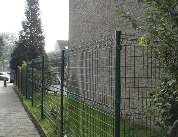 Anti climb fence security no