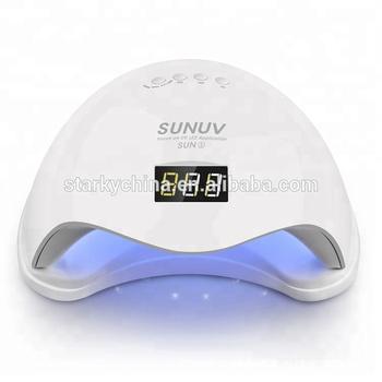 Big Power Curing Light 48w Led Uv Lamp Auto Fan Nail Art Care