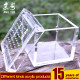 China handmade mini cube pmma plexiglass pet box acrylic scorpion mesh reptile cage