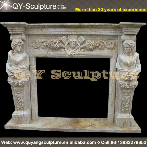 Hand Carved Sale Carved Marble Fireplaces