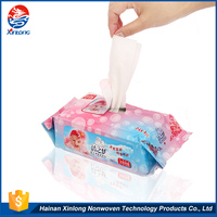 Lowest price high quality wholesale alcohol-free safe and nature baby wet wipe tissue 80 or 10 pcs