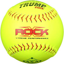 12 inch Slowpitch Leather optic yellow Softball